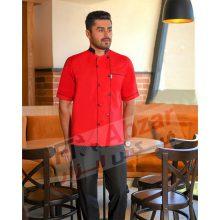 روپوش آشپزی کیمیا ، لباس آشپزی ، لباس فرم رستورانی KIMIYA مدل آترین