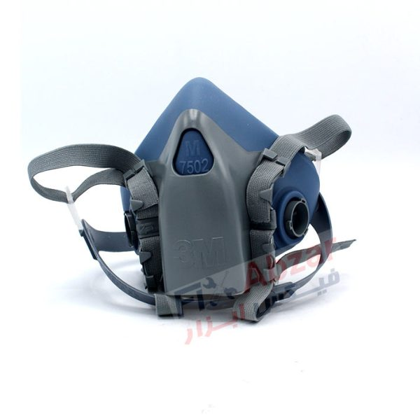 ماسک نیم صورت 3m مدل 7502 نیم صورت طراحی شده به صورت دو فیلتر
