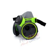ماسک شیمیایی نیم صورت BLS دو فیلتر مدل TP2000R