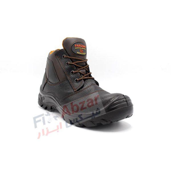 بخش کناری ، رویی و نوک کفش ایمنی فرزین مدل اکو
