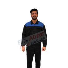 لباس کار مهندسی ایران خودرویی با پارچه فلامنت کجراه درجه یک