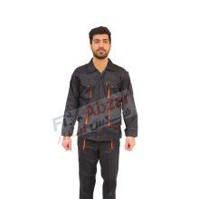 لباس کار مهندسی ست ورک با پارچه فلامنت کجراه درجه یک