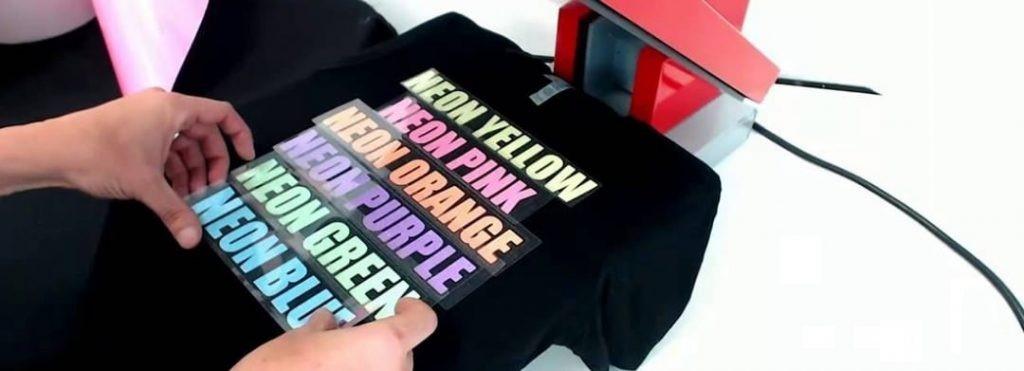 چاپ ترانسفر حرارتی روی لباس کار